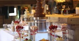 slajd fontanna czekoladowa