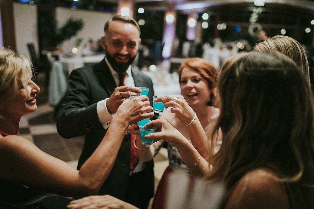 drinkbar na weselu