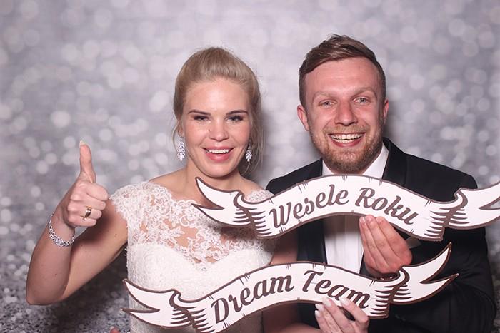 Fotobudka na weselu Karoliny i Roberta