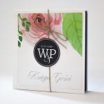 Księga gości na wesele wzór
