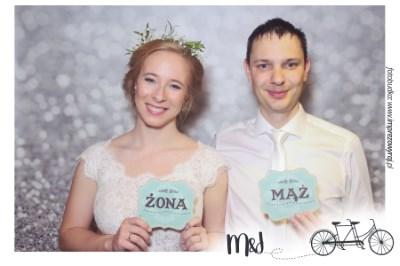 Fotobudka na weselu Moniki i Jana