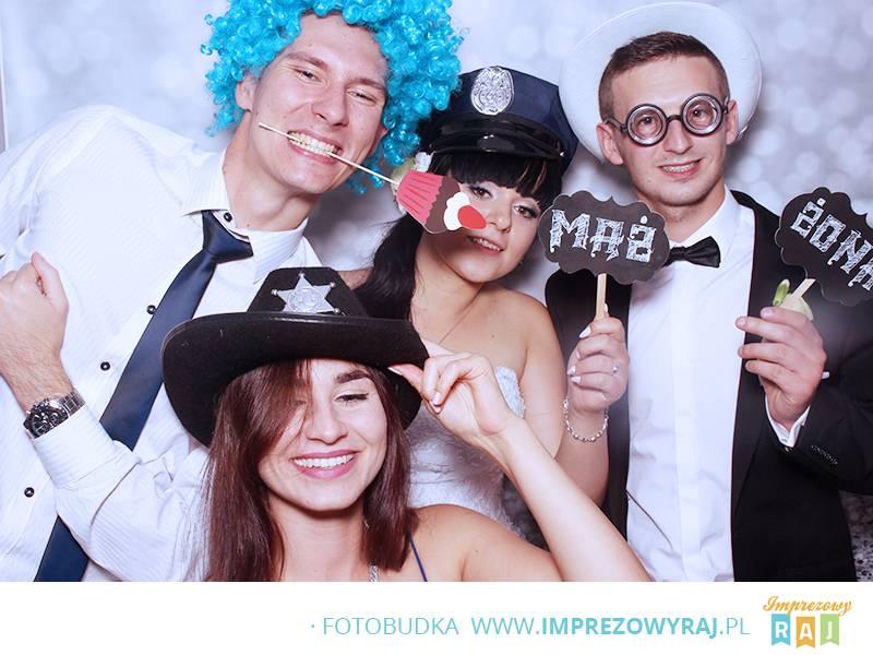 Fotobudka na weselu Kariny I Kamila